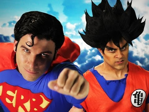 Epic Rap Battles of History - Goku vs Superman