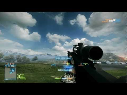 BF3 [FRAG# 7] | 1152m marksmen shot M98B - Caspian Border | by xTREAM