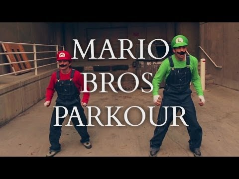 Super Mario Brothers Parkour IRL