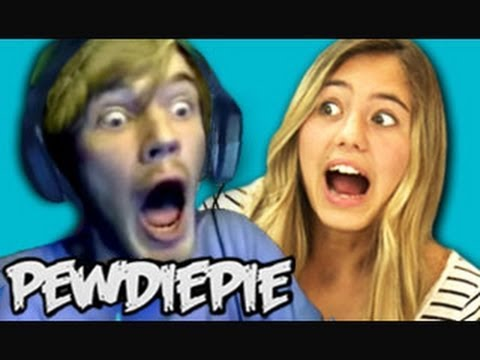 Teens react to PewDiePie