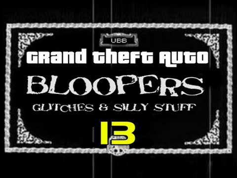 GTA 4 Bloopers, Glitches & Silly Stuff 13
