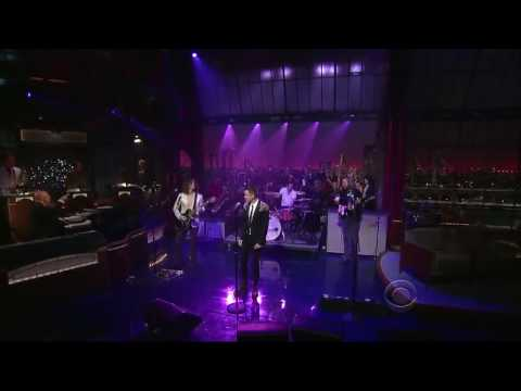 The Killers hos Letterman - A Dustland Fairytale