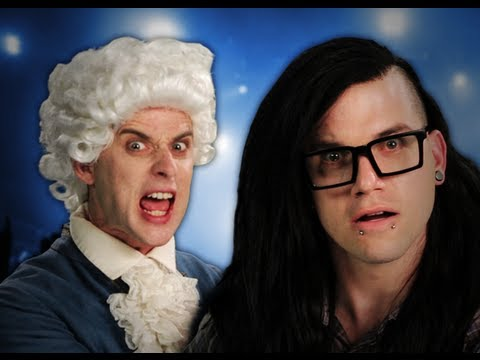 Epic Rap Battles of History: Mozart vs Skrillex