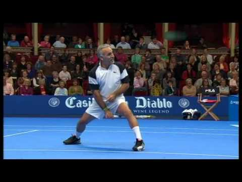 MANSOUR BAHRAMI - Tennis' Greatest Entertainer