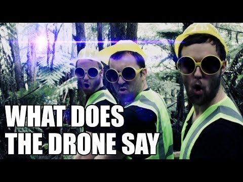 What Does The Drone Say?