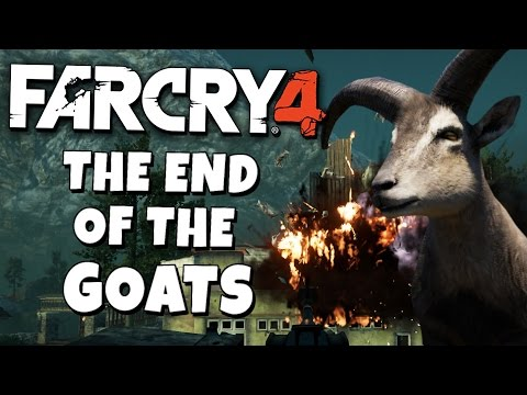 Gaming: Far Cry 4 - Map Editor - The End of the Goats