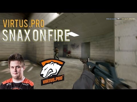 Gaming: CS:GO sNax on fire by viRRE