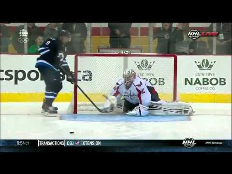 Hockey: Pre Season - Capitals - Jets shootout