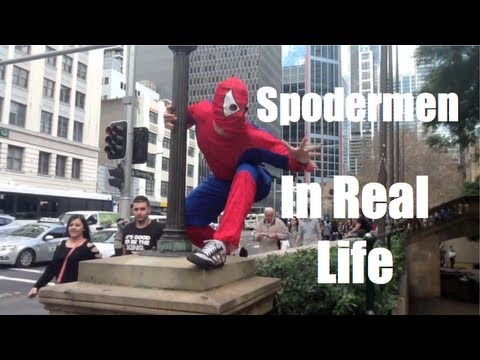 Spooderman In Real Life